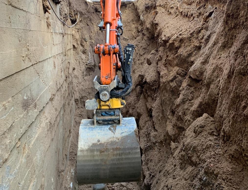 Kaivutyöt ja perustuksen tarkastus